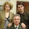 с Алиной Медведевой и Мишей Гантман перед концертом 9 мая