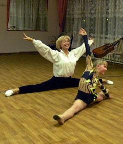 Таня Иванова с внучкой